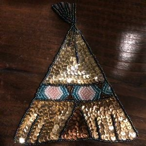 Teepee patch